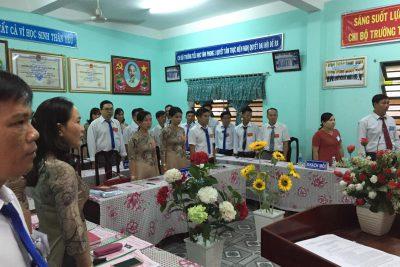 Chi bộ trườngTH Vĩnh Phong 1 tổ chức thành công Đại hội Chi bộ nhiệm kỳ 2020-2022